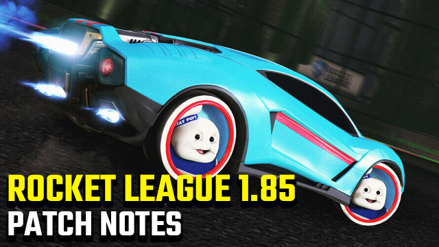 Rocket League 1.85 Update Patch Notes | Haunted Hallows event