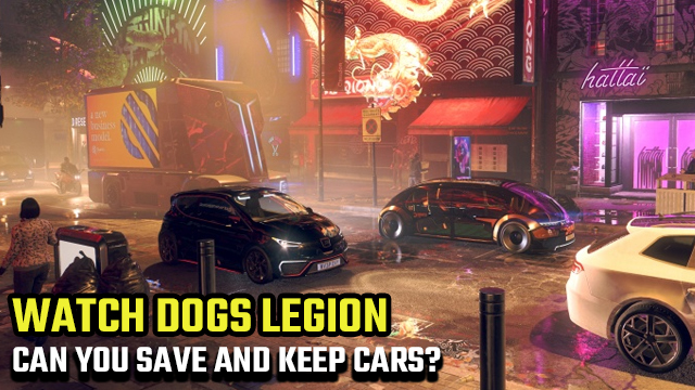 watch dogs legion save keep store cars garage