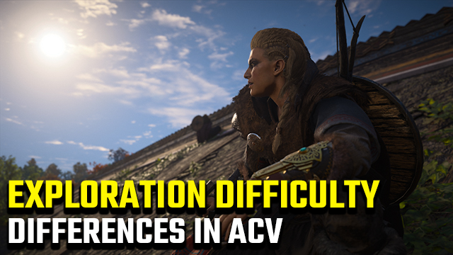 Assassin's Creed Valhalla Difficulty Differences   Pathfinder, Explorer, Adventurer difficulties