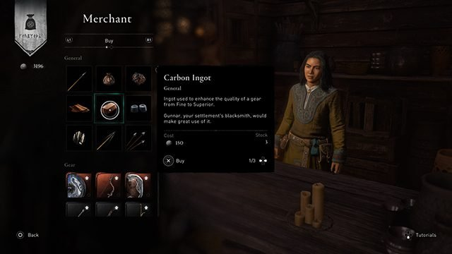 How to get carbon ingots in Assassin's Creed Valhalla