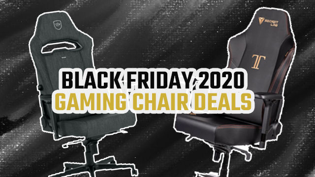 BLACK FRIDAY 2020 GAMING CHAIR DEALS