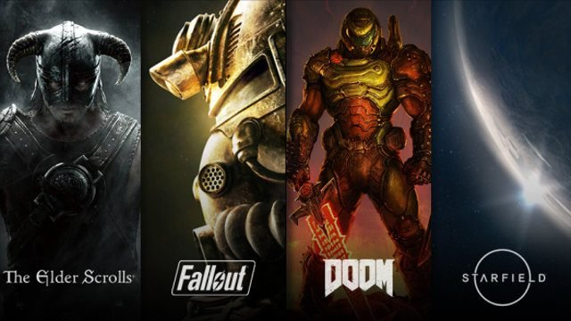 Bethesda Xbox Games Elder Scrolls Fallout Doom Starfield timed exclusives