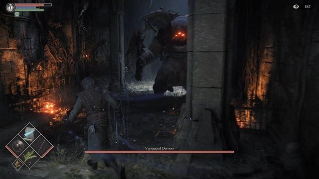 Demon's Souls can you defeat the tutorial boss
