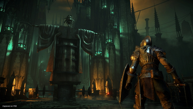 Demon's Souls remake plunging attack