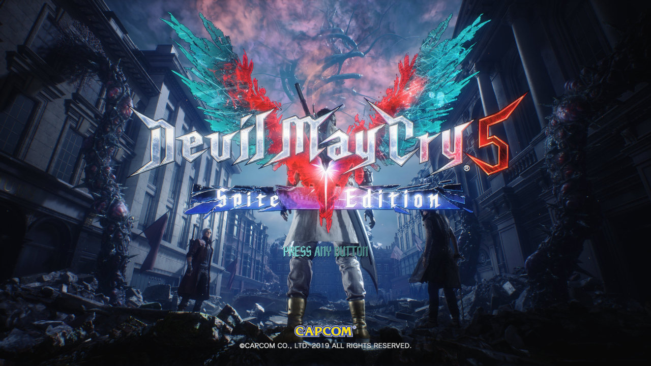 Devil May Cry 5 Special Edition PC Spite Edition mod