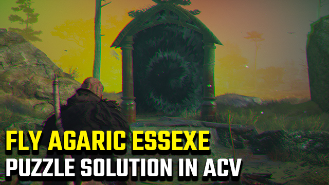 Assassin's Creed Valhalla | Fly Agaric fire puzzle solution in Essexe