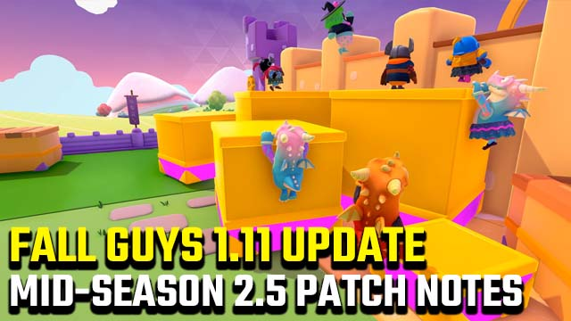 Fall Guys 1.11 update patch notes