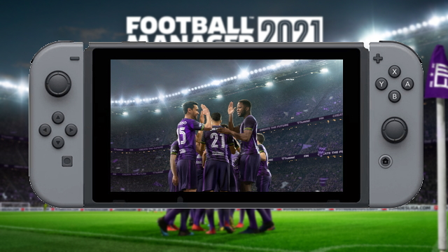 Football Manager 2021 Nintendo Switch