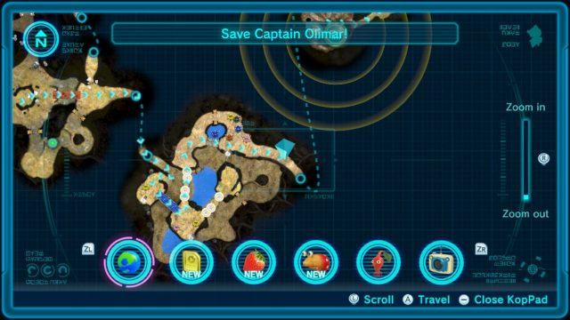 Formidable Oak Pikmin 3 Guide map last section
