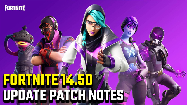 Fortnite 2.92 Update Patch Notes