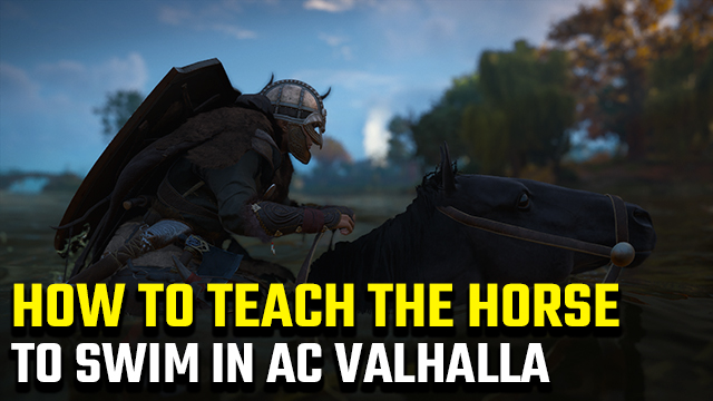 Assassin's Creed Valhalla | How to teach a horse to swim