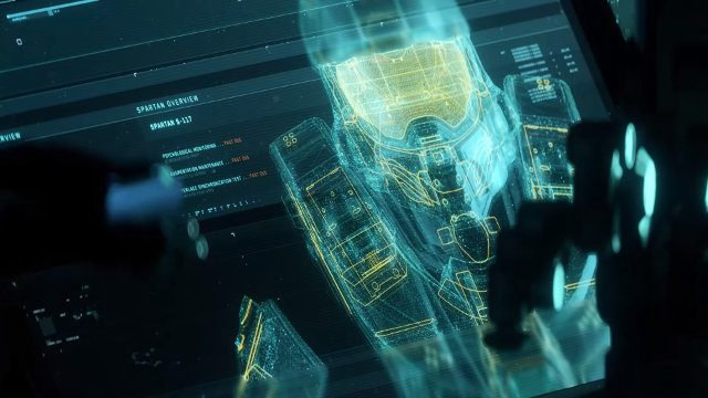 Halo 4 PC release date Master Chief Collection MCC hologram