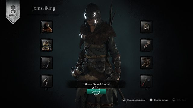 How to create a Jomsviking in Assassin's Creed Valhalla