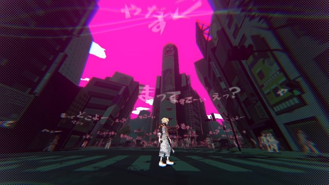 New The World Ends With You game PS4 Switch PS5 pink sky NEO: The World Ends With You