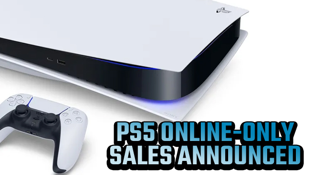 PS5 online only sales in store banned