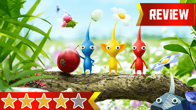 Pikmin 3 Deluxe Review Featured