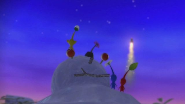 Pikmin 3 Deluxe review Nintendo Switch Olimar's Ship