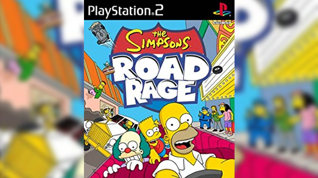 the simpsons road rage release date