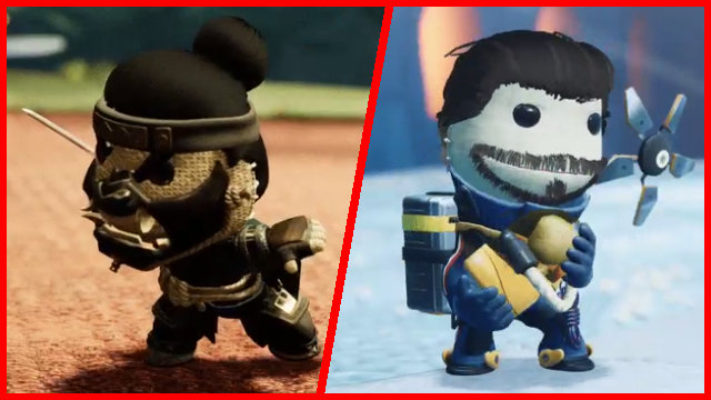 Sackboy Digital Deluxe Edition costumes Ghost of Tsushima Death Stranding PS4 PS5