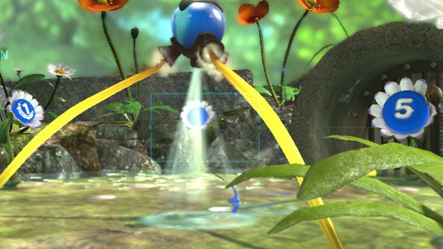 Where to find Blue Pikmin in Pikmin 3 Blue Onion