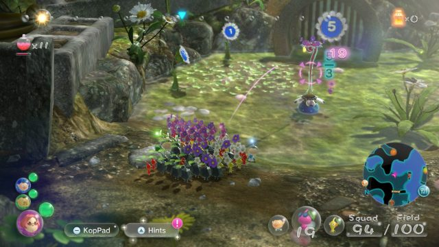 Where to find Blue Pikmin in Pikmin 3 winged Pikmin pink Pikmin pluck