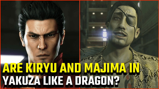 Yakuza Like a Dragon Kiryu Majima