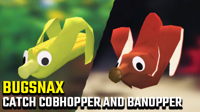 bugsnax how to catch cobhopper banopper