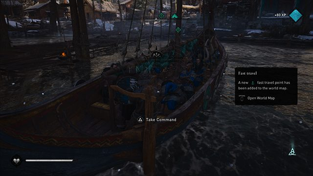 How to fast travel in Assassin's Creed Valhalla