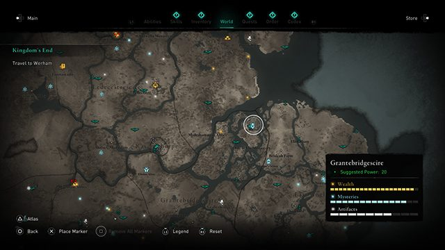 Assassin's Creed Valhalla Daughters of Lerion locations
