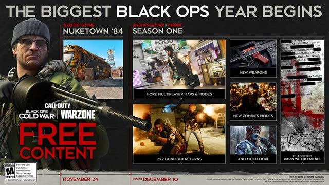 When is Black Ops Cold War Warzone coming out?