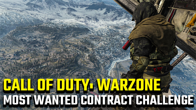 Call of Duty: Warzone Most Wanted contract