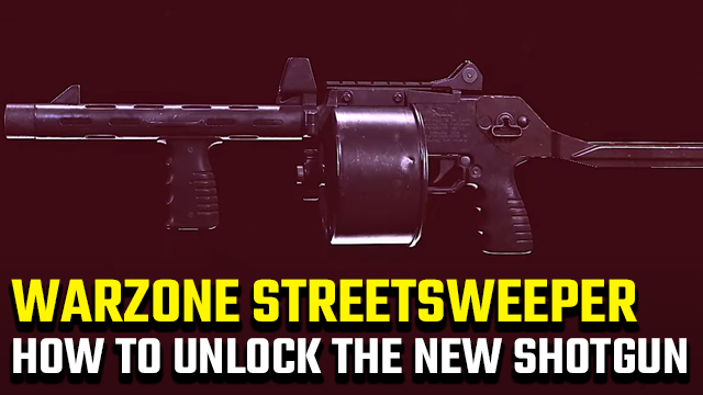 Call of Duty: Warzone Streetsweeper