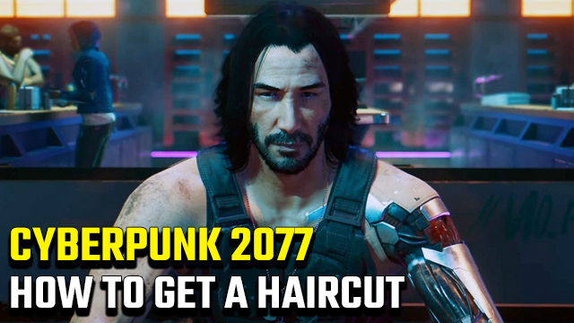 Cyberpunk 2077 Haircut