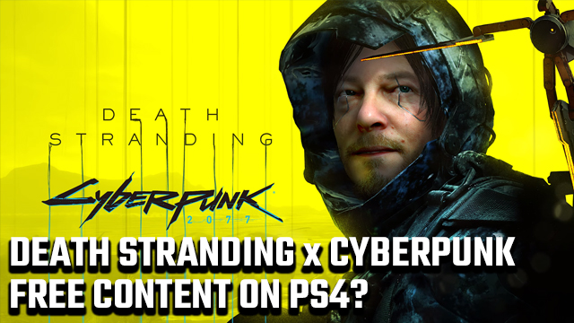 Cyberpunk 2077 is Coming to the World of Death Stranding