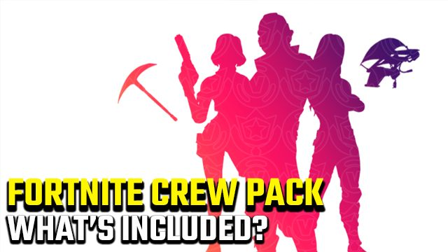 FORTNITE crew pack what's included
