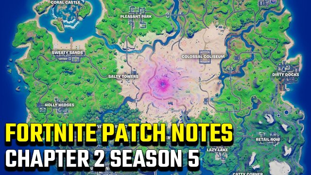 Fortnite 2.96 Update Patch Notes