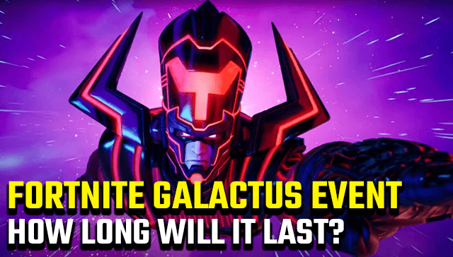 Fortnite Galactus Event Start and End Times How Long will it last