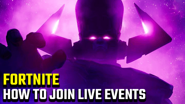 How to join Galactus live event Fortnite