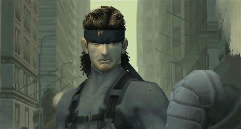 MGS 2 Solid Snake