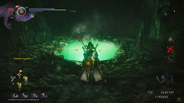 Nioh 2 The First Samurai hot spring locations