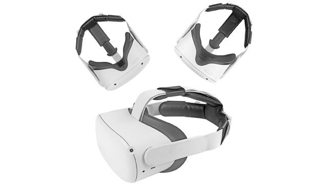 Topcovos Head Pad for Oculus Quest 2