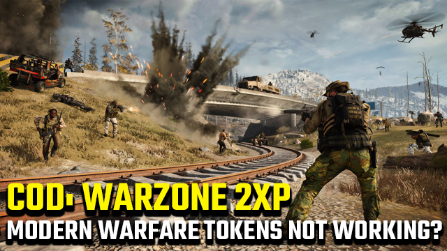 Why don't Modern Warfare double XP tokens work in Warzone?