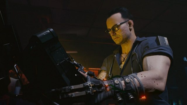 Can you set a fat or skinny body type in Cyberpunk 2077?