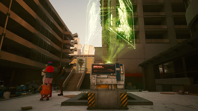 Cyberpunk 2077 how to fast travel on the map