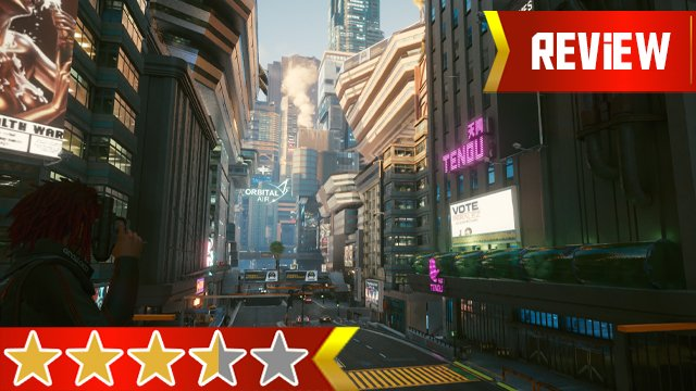 cyberpunk 2077 review cover