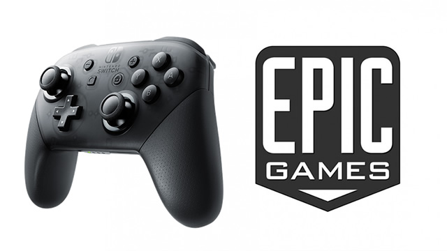 Epic Games Store - How to use Switch Pro Controller