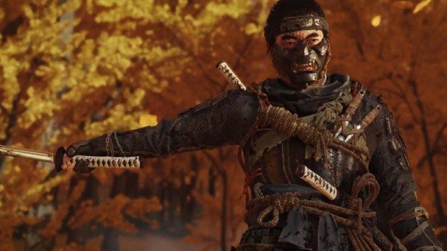 ghost of tsushima game of the year 2020