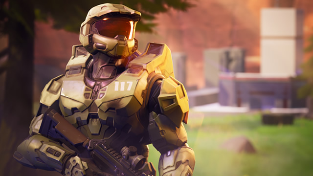 Master Chief and Blood Gulch CTF land in Fortnite