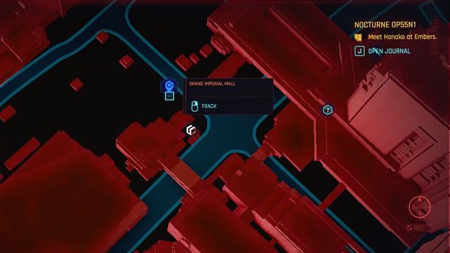 How to fast travel in Cyberpunk 2077 - Tourist Information terminal