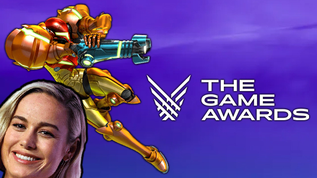 fortnite samus skin brie larson the game awards